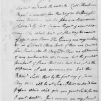 Samuel Culper to Benjamin Tallmadge, February 21, 1783